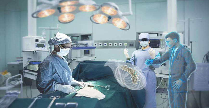 混合现实技术在医学领域的应用