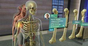 HoloLens用于人体研究