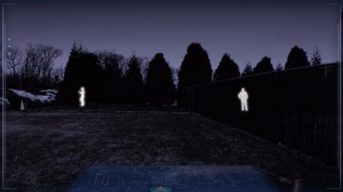 夜视仪效果渲染图