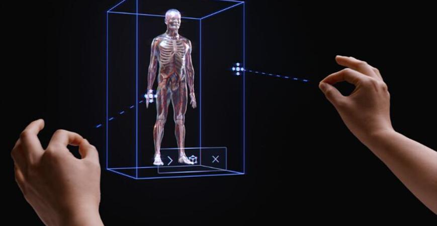 MR设备HoloLens的交互方式