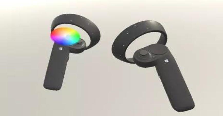 添加颜色选择轮(color picker wheel)到控制器