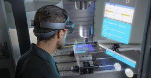 日本三井住友建设HoloLens地下排水隧道检修