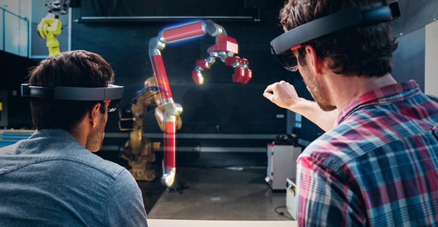 与多个用户共享 HoloLens