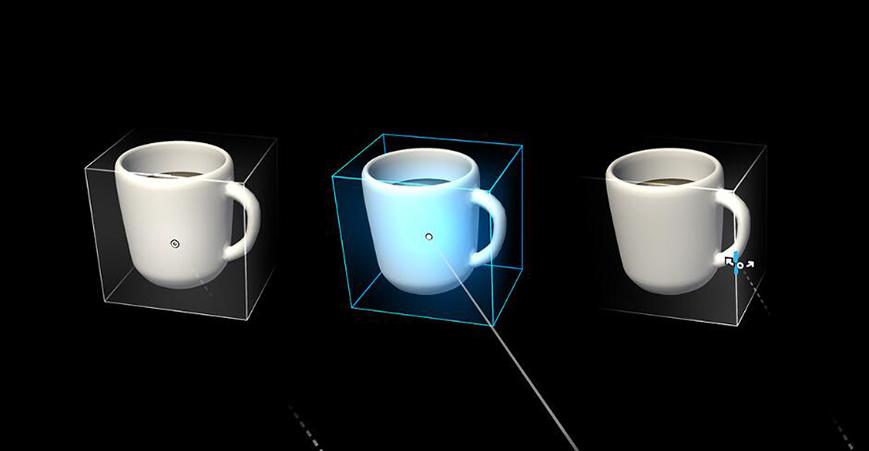 混合现实UX元素–光标